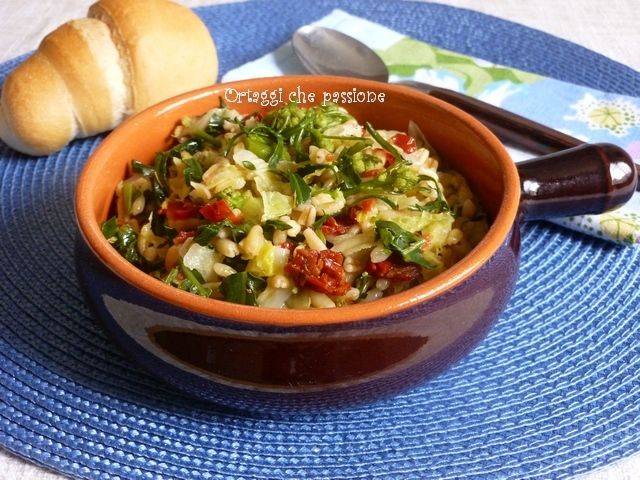 Grano Khorasan Kamut con verdure