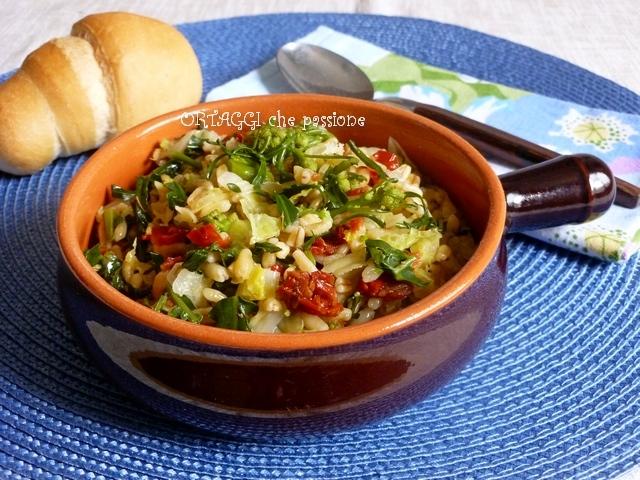 grano Khorasan Kamut con verdure Ortaggi che passione by Sara