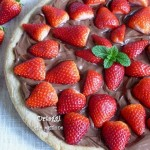 Pizza nutella e fragole