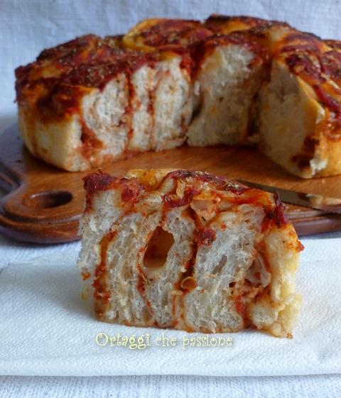 Torta pizza di rose Ortaggi che passione