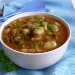 Zuppa di fave e lattuga – ricetta
