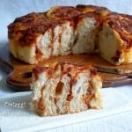 Torta pizza di rose, ricetta con lievito madre
