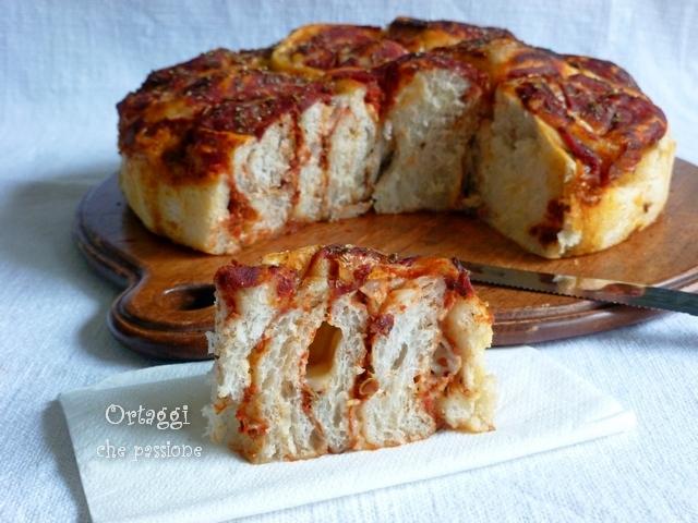 torta pizza di rose Ortaggi che passione by Sara