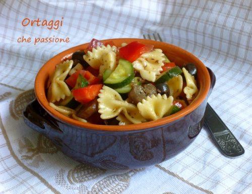 Pasta con verdure, ricetta estiva