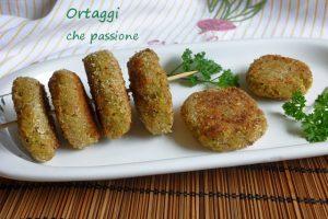 Polpette vegetariane fagioli e zucchine