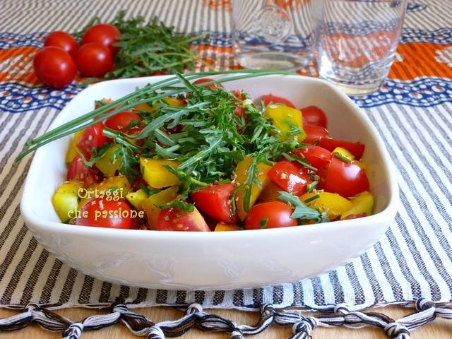 Pomodori e peperoni Ortaggi che passione by Sara