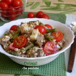 Insalata di grano saraceno e riso