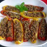 Peperoni al forno, ricetta vegana