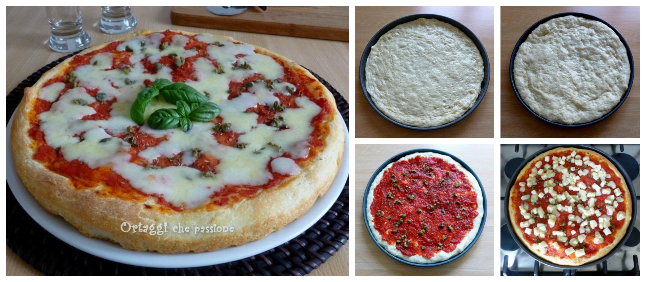 Pizza lunga lievitazione, pasta madre