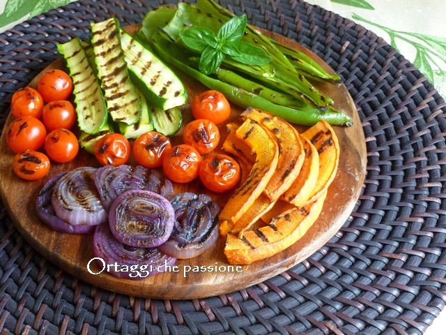 Verdure grigliate - ortaggi che passione by Sara