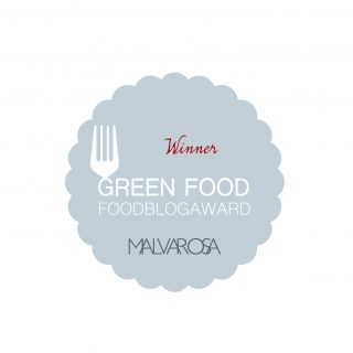 "MIGLIORE ""Food Blog Award 2016"" categoria ""GREEN FOOD"""