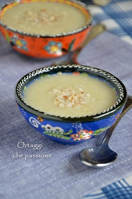 minestra di cavolfiore, avena, Ortaggi che passione by Sara Grissino
