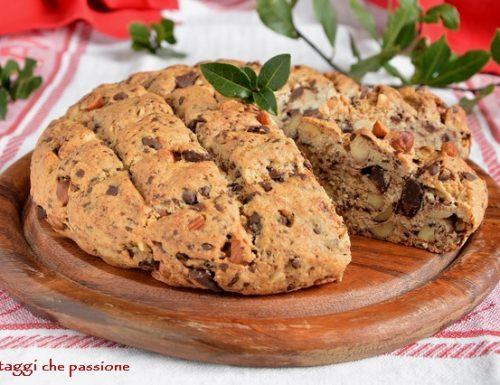 Pandolce, panettone genovese basso