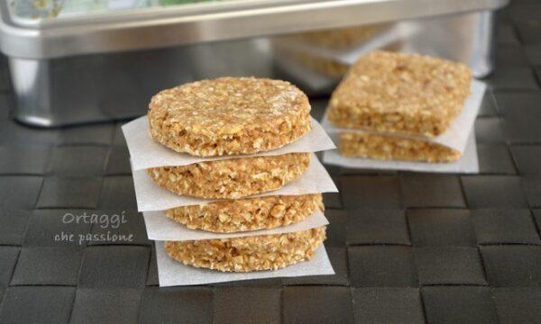 Biscotti vegani, fiocchi avena ricette
