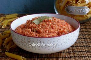 Okara di soia, ricetta ragù vegan