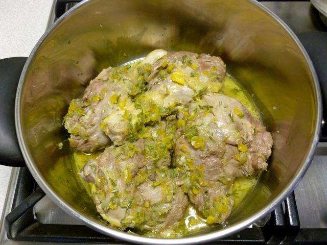 coscia d'anatra in padella, cottura