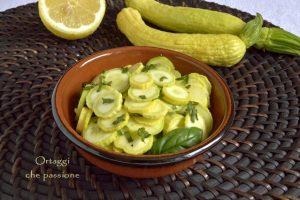 Zucchino Giallo Rugoso Friulano, ricette