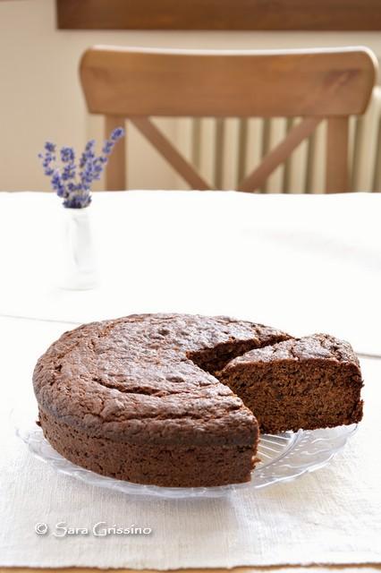 Torta vegana, ricetta con banane e cioccolato - Ortaggi che passione by Sara