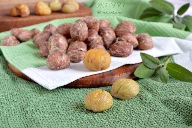 Castagne lesse, Ortaggi by Sara