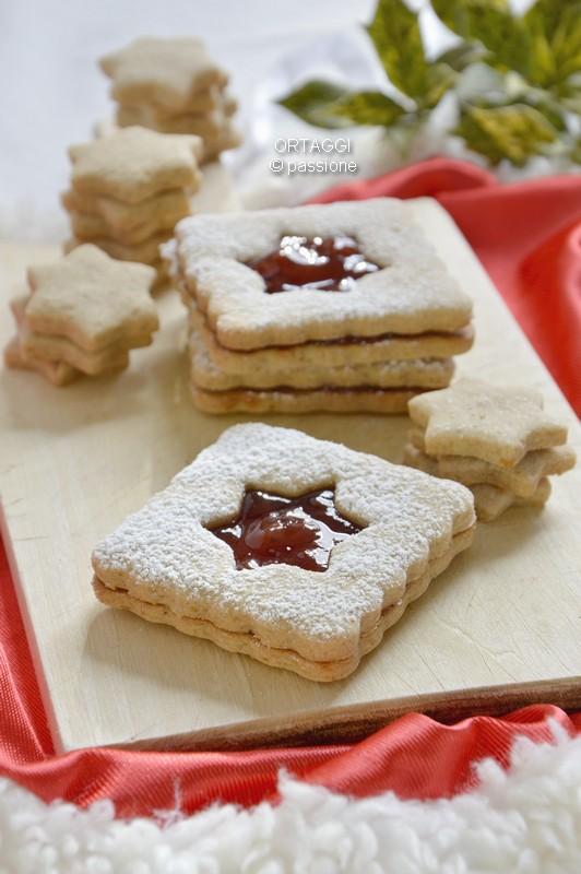 Biscotti grano saraceno farciti