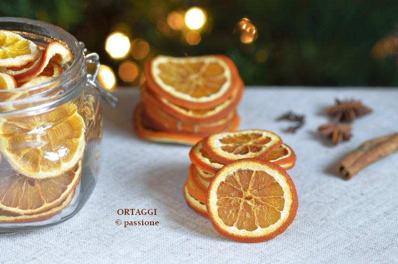 arance essiccate, ORTAGGI © passione