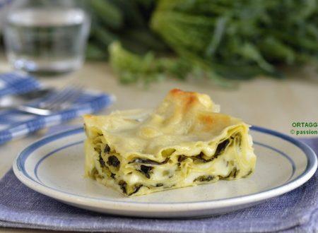 Lasagne con broccolo fiolaro