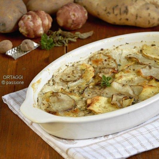 Topinambur e patate dolci americane al forno, ORTAGGI che passione by Sara Grissino