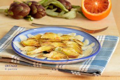 Insalata di castraure, come mangiare i carciofi crudi