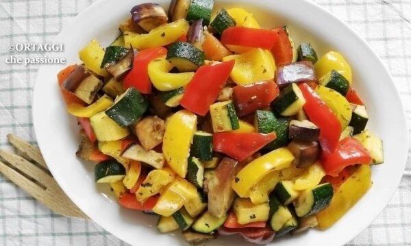 Verdure estive in padella – gusto cinese
