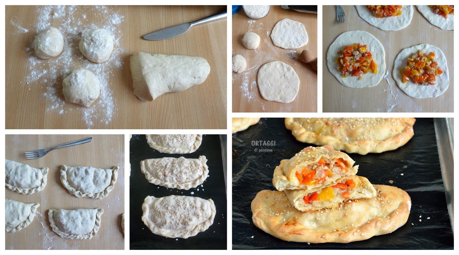 Empanadas al forno - ricetta con foto passo passo