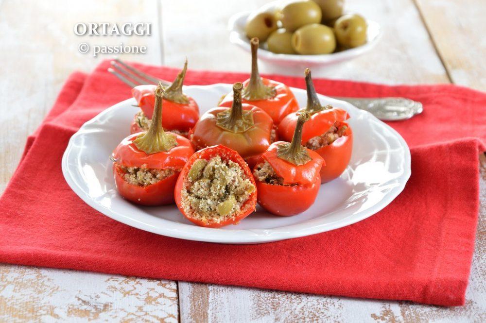Peperoncini tondi ripieni ORTAGGI © passione