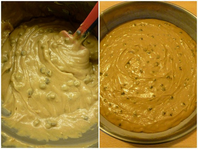 Torta con solo farina di castagne, procedimento