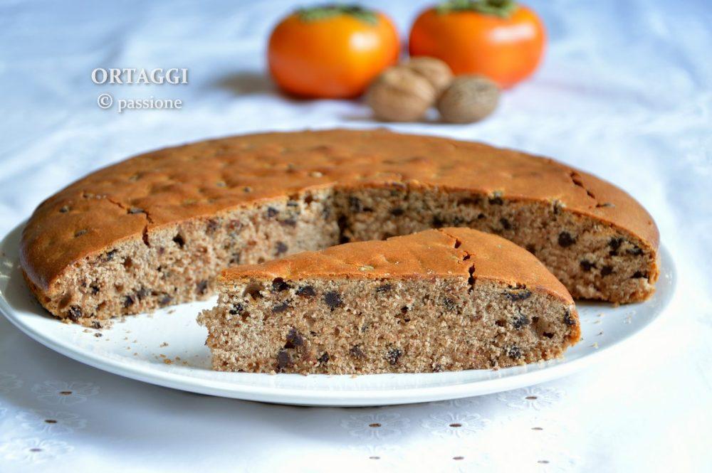 Torta con solo farina di castagne - ricetta senza glutine