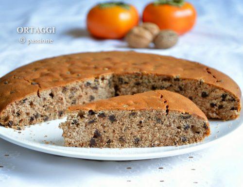 Torta con solo farina di castagne, senza glutine