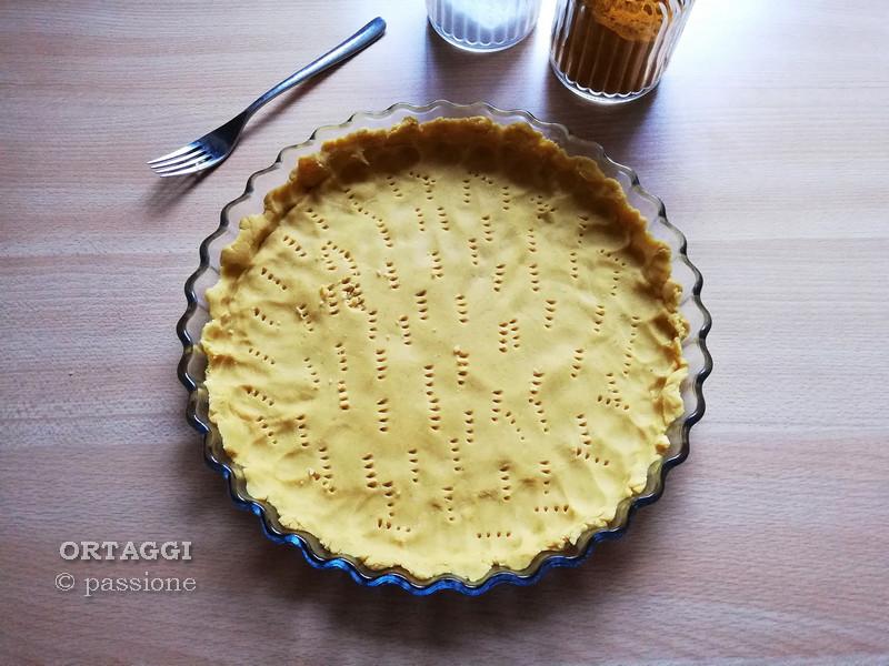 Base per torta salata senza glutine