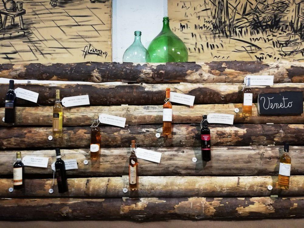 Refrontolo, Città del vino. Degustazione vini Passiti italiani