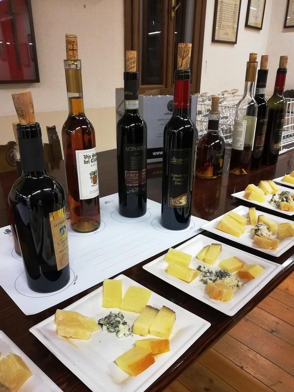 Refrontolo, Città del vino. Degustazione vini Passiti italiani ORTAGGI che passione - Sara Grissino