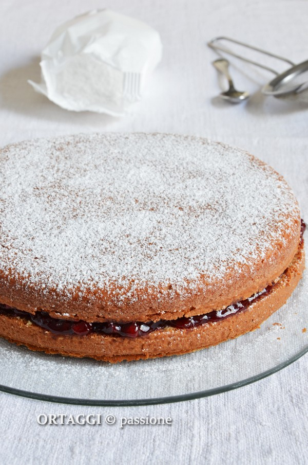 Torta senza farina, ricetta dolci senza glutine e lattosio ORTAGGI © passione by Sara Grissino