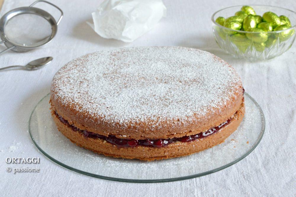 Torta senza farina, ricetta dolci senza glutine e lattosio ORTAGGI che passione by Sara Grissino