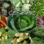 GENNAIO verdura stagione ELENCO completo