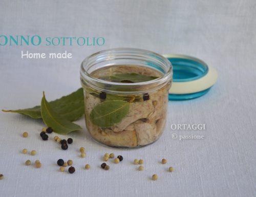 Tonno sott'olio, ricetta homemade