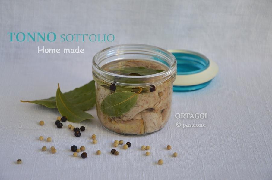Tonno sott'olio ORTAGGI © passione by Sara Grissino
