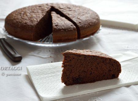 Torta veloce nutella e cacao, senza burro