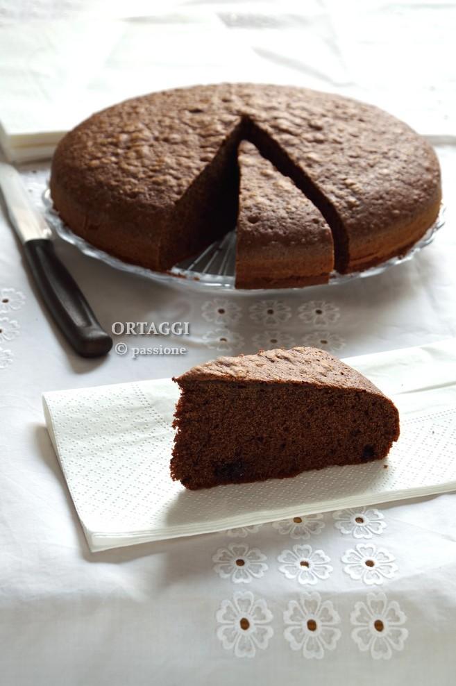 Torta veloce nutella e cacao ORTAGGI che passione
