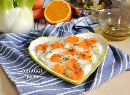 Insalata di finocchi e carote, ricette light
