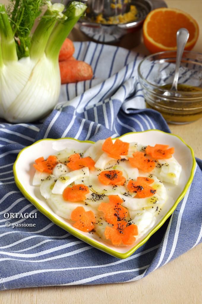Insalata di finocchi e carote con agrumi ORTAGGI © passione