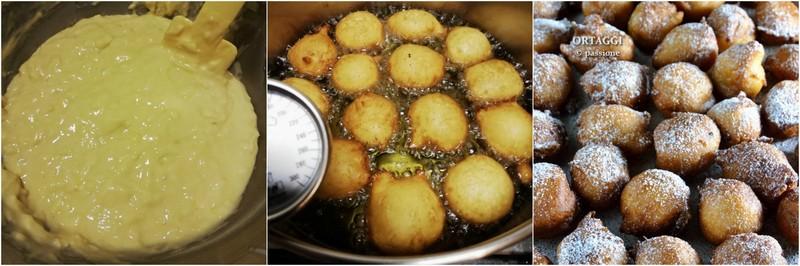 Fritole venete, le mie frittelle veneziane ricotta e mele ORTAGGI che passione