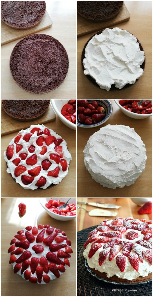 COLLAGE-Torta-cioccolato-panna-e-fragole-ORTAGGI-che-passione