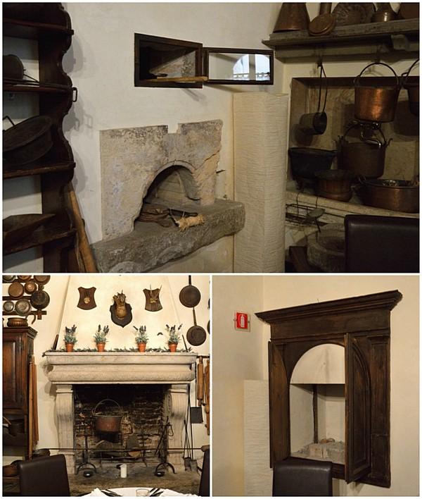 Castello di Bevilacqua, Castello cucina