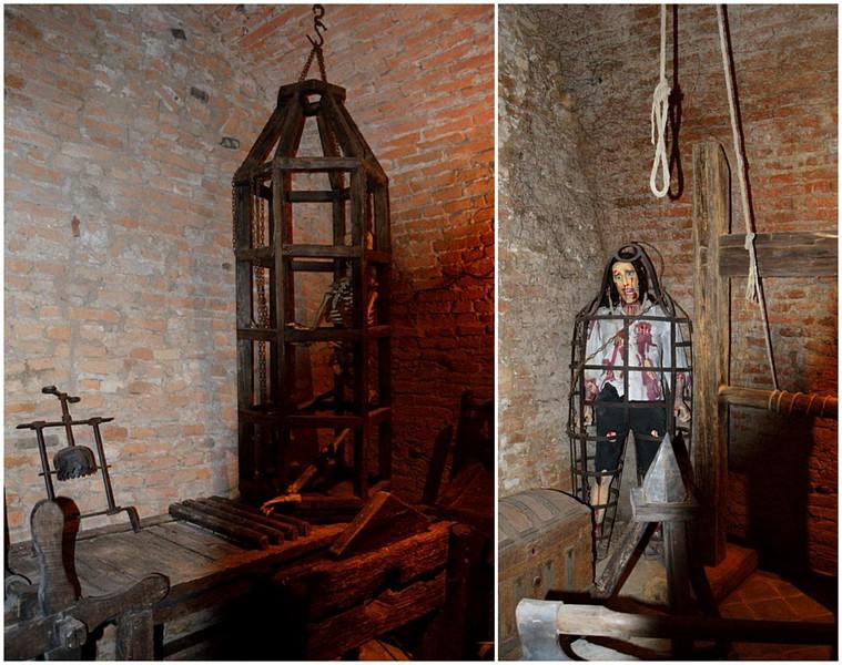 Bevilacqua, MUSEO sala delle torture
